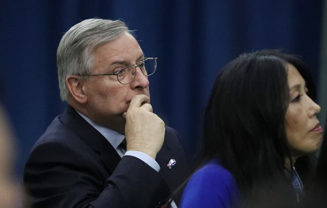 Terry and Kim Pegula are buying a majority stake in Rand Capital. (News file photo)