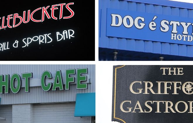 """Andrew Galarneau writes, """"Sometimes the first thing a restaurant maker knows about the enterprise they will pour their life into is the name on the sign."""" (News file photos)"""
