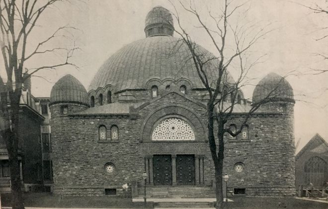 Temple Beth Zion, 1895. (Buffalo Stories archives)