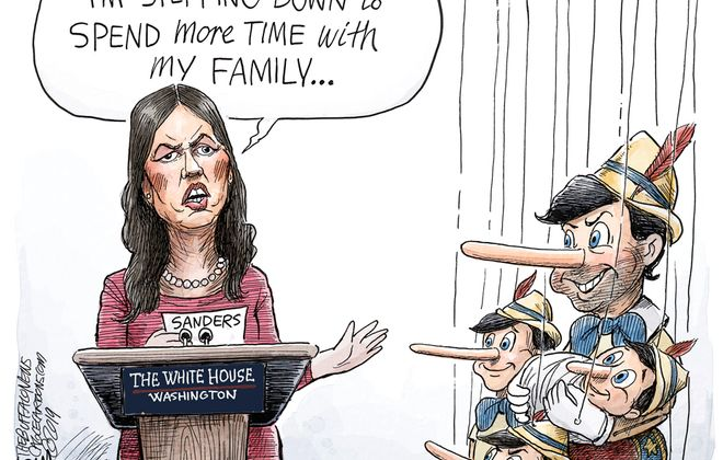 Sarah Huckabee Sanders: June 15, 2019