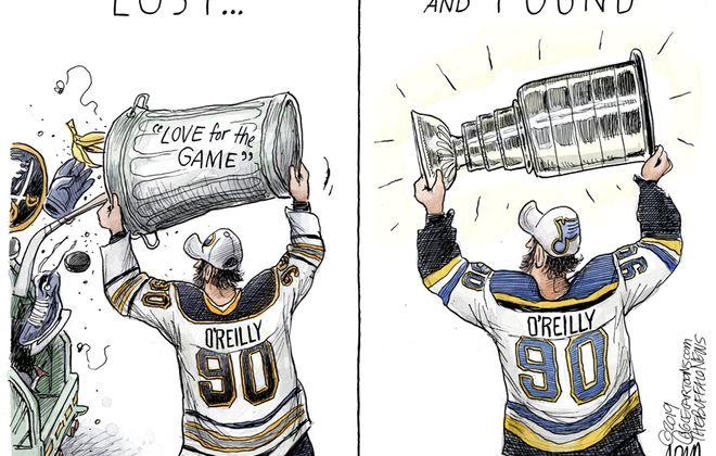 Ryan O'Reilly: June 16, 2019