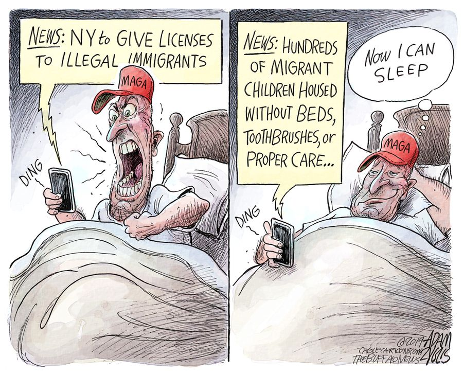 Immigrant outrage: June 22, 2019