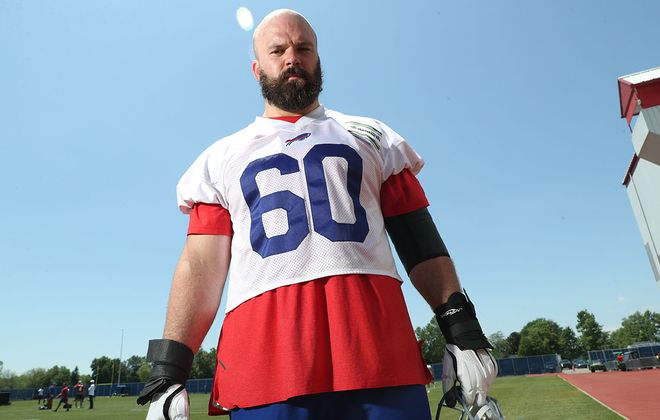 Bills center Mitch Morse. (James P. McCoy/Buffalo News)