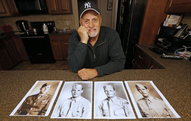 """Preston """"Pete"""" Niland II, named for an uncle killed during the D-Day invasion, has watched as his family's tale of sacrifice — two brothers killed, one pulled out of combat and sent home and Pete's own father captured by the Japanese — turned into a global symbol of the Normandy invasion. (Robert Kirkham/Buffalo News)"""