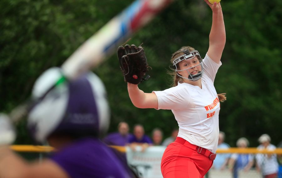 Williamsville East pitcher Summer Clark is the New York State Co-Player of the Year in Class A. (Harry Scull Jr./Buffalo News)