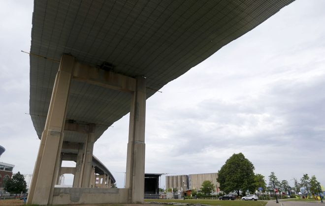 The Skyway pictured on Monday, June 24, 2019. (Mark Mulville/Buffalo News)
