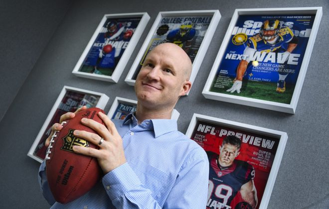 Brian Ayrault, an Orchard Park native, has become one of the NFL's top agents. (John Amis/Special to The News)