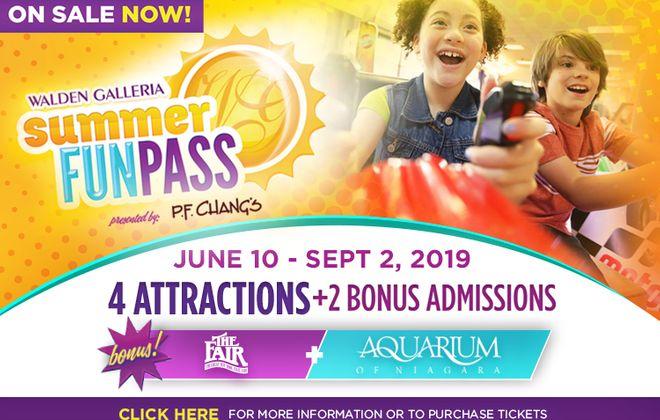 Walden Galleria's 2019 Summer Fun Pass!