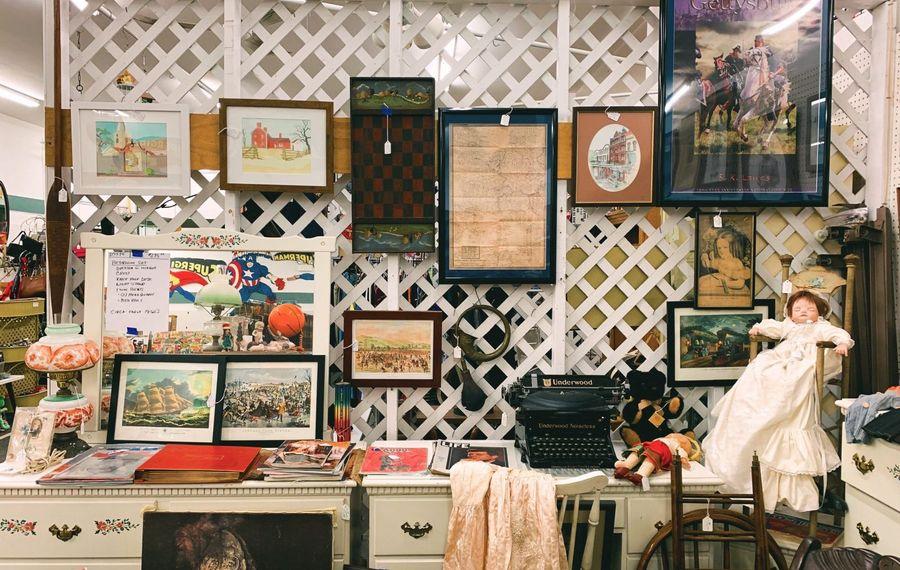 Welcome to Antique World, an epicenter for secondhand goods. (Francesca Bond/Buffalo News)