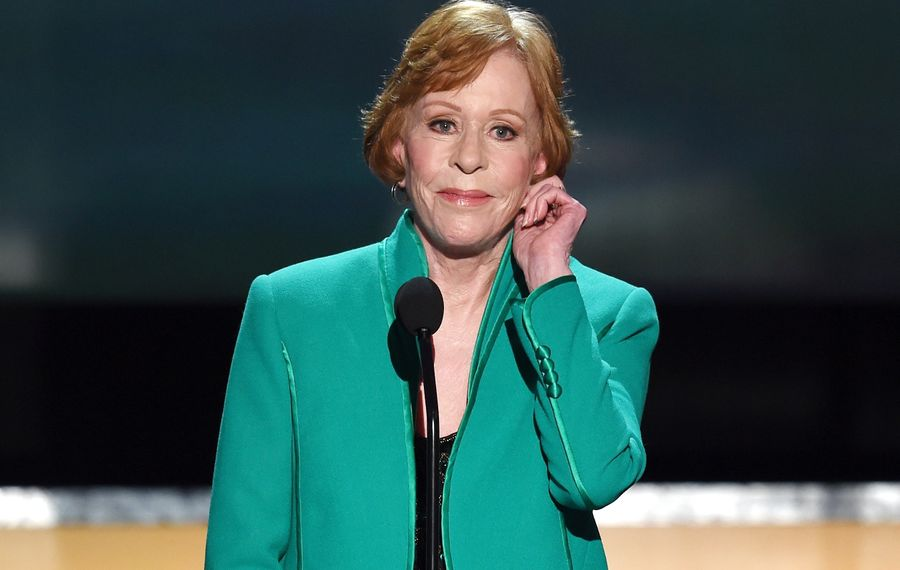 Carol Burnett's signature tug on her ear is likely to make an appearance when she comes to Shea's on Oct. 1. (Getty Images)