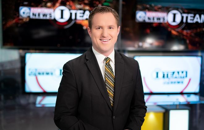 Channel 7's Charlie Specht. (Photo courtesy of WKBW-TV)