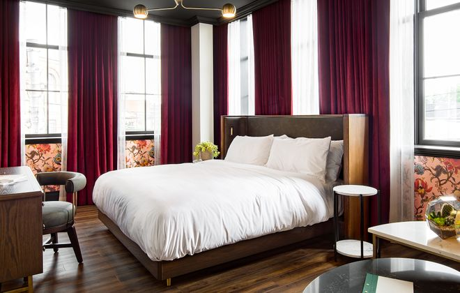 The Broadview Hotel in Toronto's East End blends old and new together for a distinct look. (Courtesy Broadview Hotel)