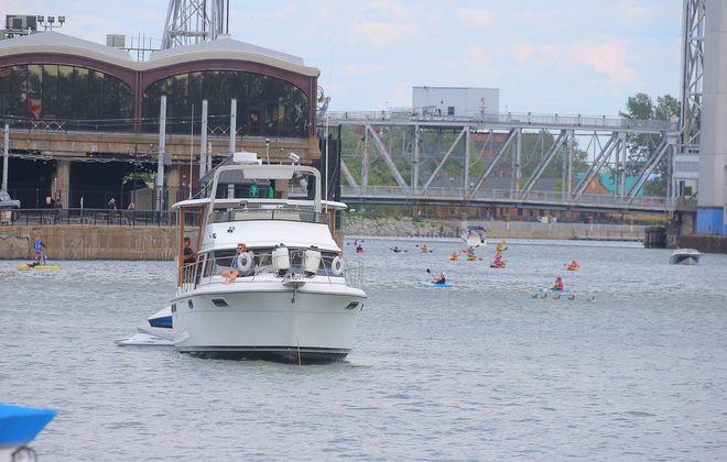 The Buffalo River has become a recreation destination. (News file photo)