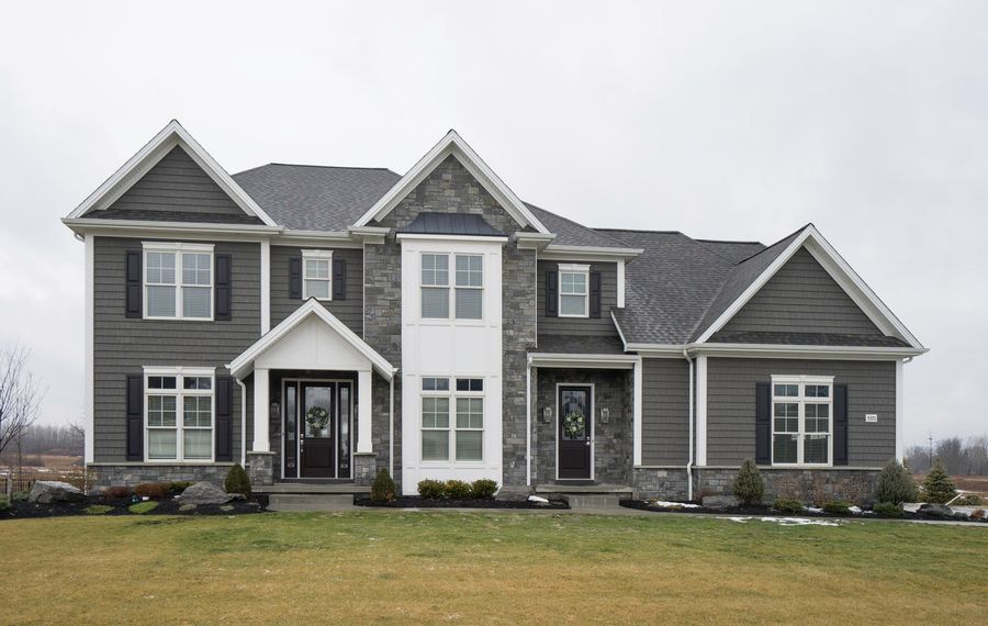 UB football coach Lance Leipold recently paid $820,000 for this home in Clarence's Spaulding Green subdivision. (Photo courtesy of Drew Zinck for Howard Hanna)