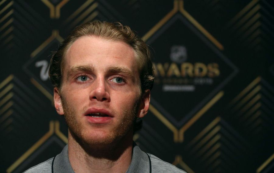 Patrick Kane said Tuesday in Las Vegas that he's interested to see how Chicago GM Stan Bowman retools his team. (Getty Images)