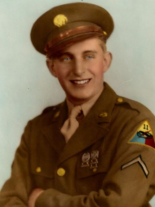 WWII Purple Heart recipient Harvey A. Burton Jr.