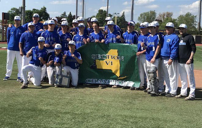 Frontier wins Class AA Section VI baseball championship Sunday, June 2, 2019. (Provided photo)