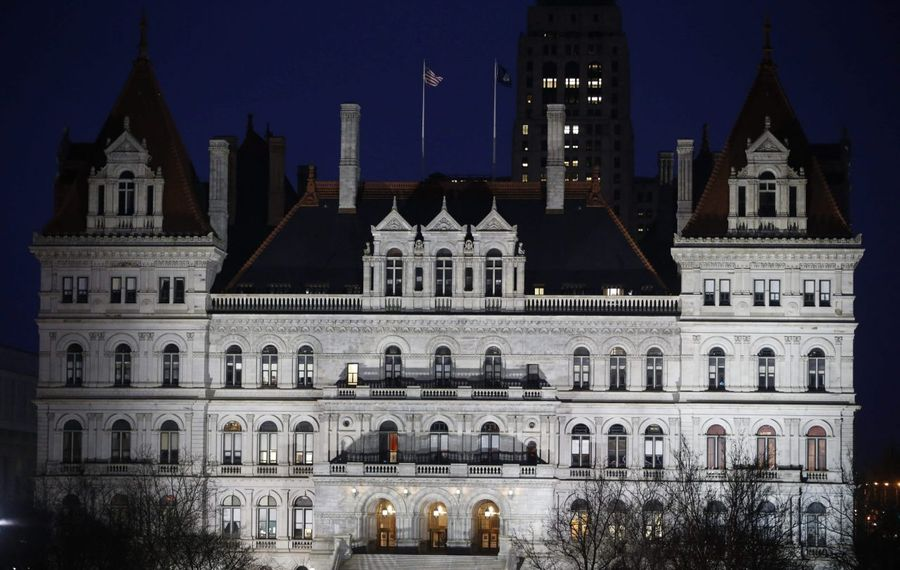 The New York State Capitol Building in Albany. (Derek Gee/News file photo)
