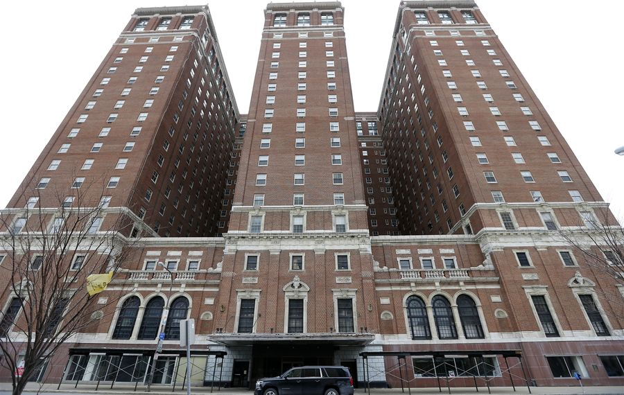 The Statler Hotel, designed by George B. Post & Sons, was completed in 1923. It was the second and largest hotel opened in Buffalo by Ellsworth Statler.(Mark Mulville/Buffalo News)
