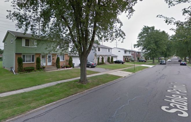 The Sable Palm Apartments in Depew, a series of duplex houses. (Google)