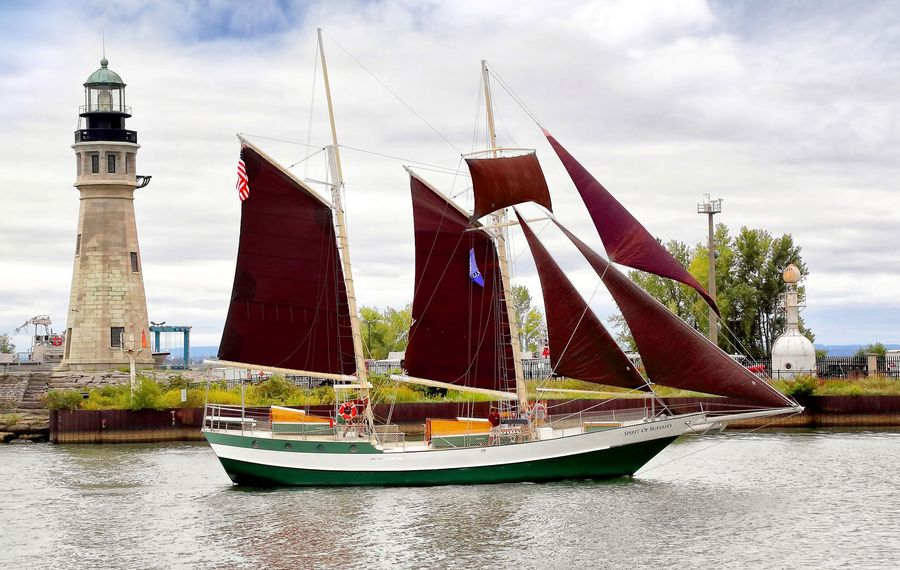 Spirit of Buffalo is one of 12 ships coming to Canalside for the Basil Port of Call: Buffalo. (Courtesy Basil Port of Call: Buffalo)