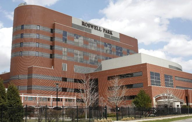 Roswell Park Comprehensive Cancer Center leaders announced Monday that the Buffalo center will receive a five-year grant from the National Cancer Institute to improve treatment and prevention services in the region. (Derek Gee/News file photo)