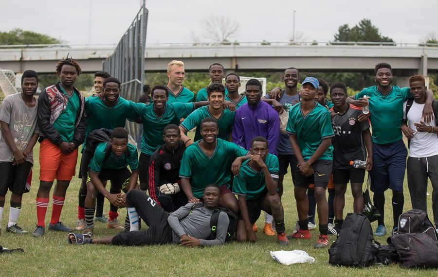 World Refugee Day soccer tournament pits the birthplaces of Buffalo's refugee and immigrant communities against each other on the soccer field. (Chuck Alaimo/Special to The News)