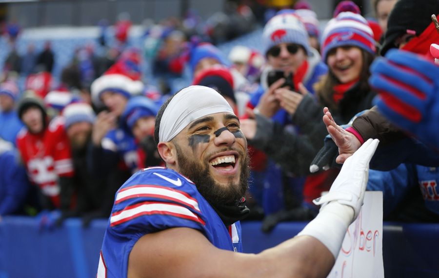Safety Micah Hyde and the rest of the Bills' secondary will go up against a weak offense Sunday. (Mark Mulville/News file photo)