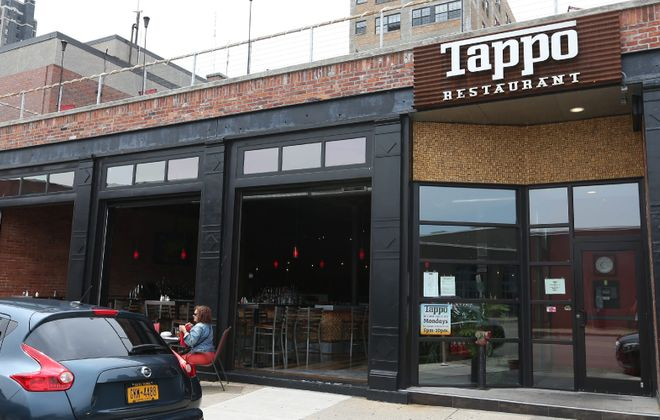 Tappo is one of several new restaurants, breweries and businesses now lining Ellicott Street. (Sharon Cantillon/Buffalo News)