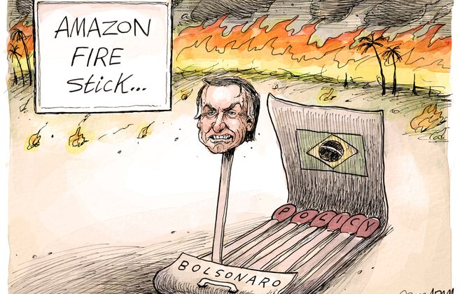 Brazil's Bolsonaro: August 29, 2019