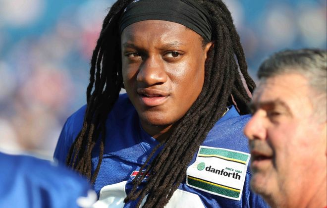 Bills linebacker Tremaine Edmunds was named to his first Pro Bowl on Thursday. (James P. McCoy/Buffalo News)