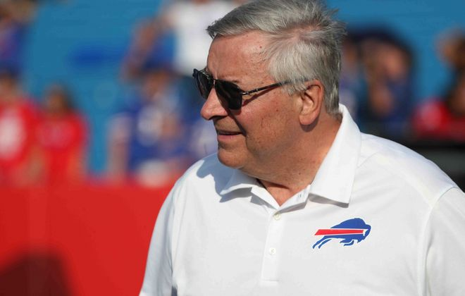 Buffalo Bills and Sabres owner Terry Pegula. (James P. McCoy/Buffalo News)