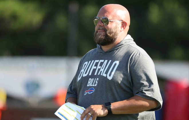 Bills offensive coordinator Brian Daboll (James P. McCoy/News file photo)