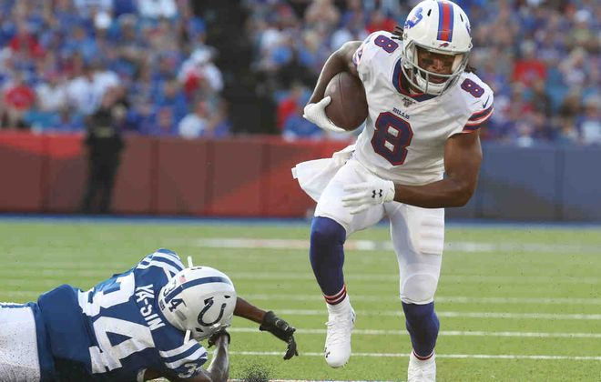 Bills wide receiver Andre Roberts is not practicing.  (James P. McCoy/News file photo)
