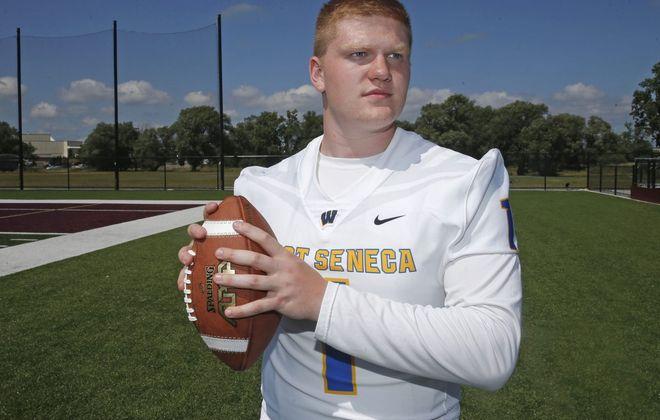 Liam Scheuer of West Seneca West is a returning second team All-WNY selection (Robert Kirkham/Buffalo News)