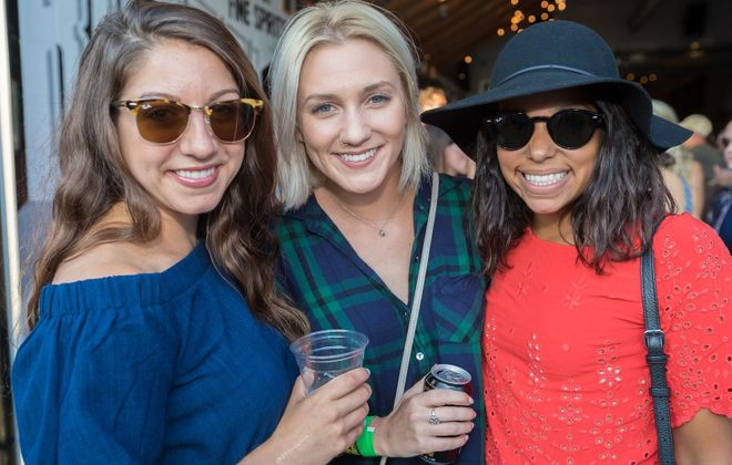 Smiling faces at 2018 Cobblestone Live, a downtown music festival that returns for its third year. (Don Nieman/Special to The News)