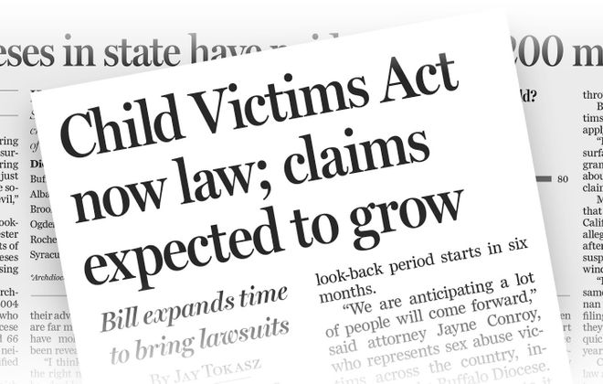 Child Victims Act (updated 2/13/20)