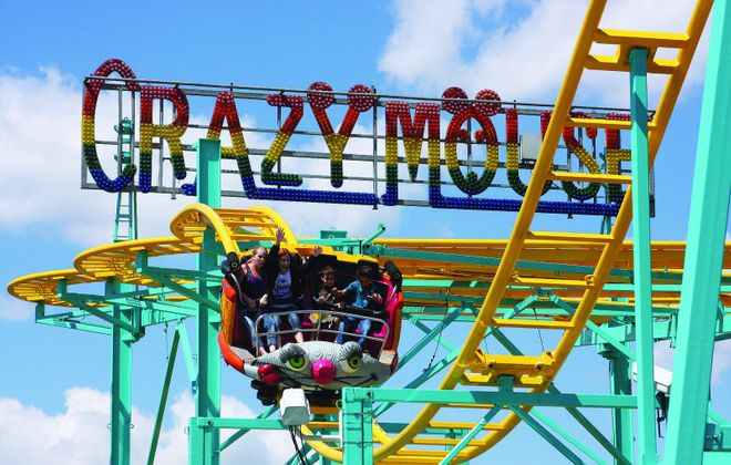 The Crazy Mouse is one of the new rides at the Erie County Fair for 2019. (Photo courtesy of the Erie County Fair)
