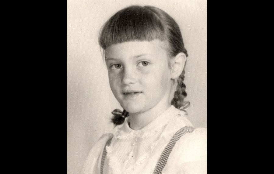 Ann Fossler, in a photo from first grade, when she was known as Ann Marie Mahoney. Fossler alleged in a Child Victims Act lawsuit that Monsignor John M. Ryan, a former superintendent of Catholic schools for the Buffalo Diocese, sexually abused her in the late 1950s, when she was a parishioner of Queen of Heaven Church in West Seneca. Fossler said she didn't tell anyone for more than 25 years. (Courtesy of Ann Fossler)
