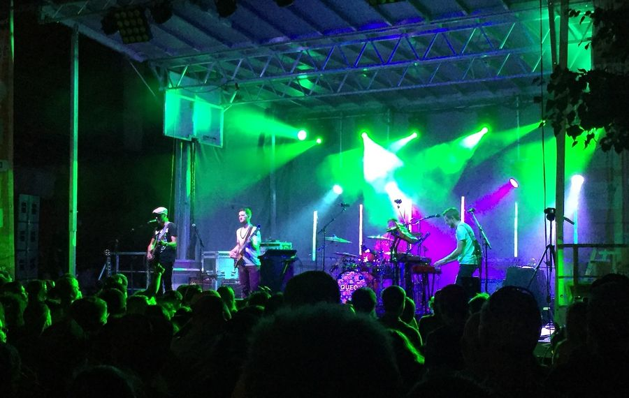 "Aqueous will open the new ""Live at the Drive-In"" concert series with three shows at the Transit Drive-In. (Jeff Miers/Buffalo News)"