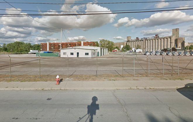 A group led by Doug Swift purchased the former GW Burnett Trucking property on Ganson Street. (Google)