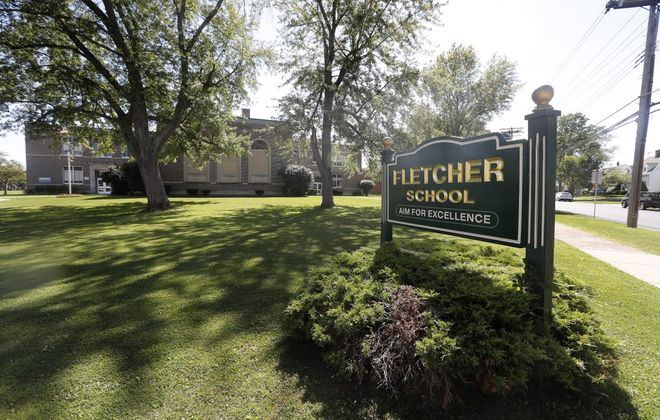 Fletcher Elementary School in the City of Tonawanda, which would be renovated and expanded as the school district closes two other elementary schools under a proposed plan. (Mark Mulville/Buffalo News)