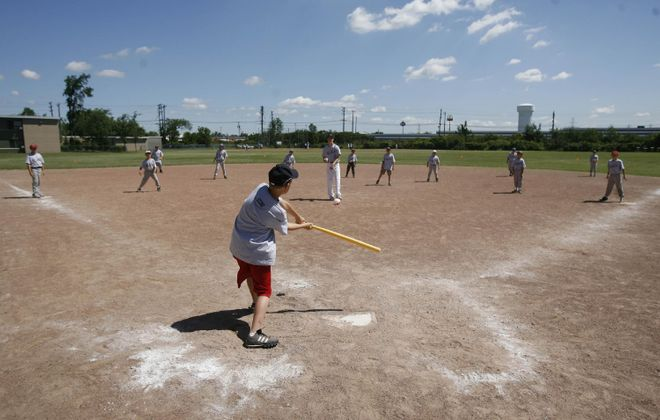 Special needs Little League field in Lancaster complete
