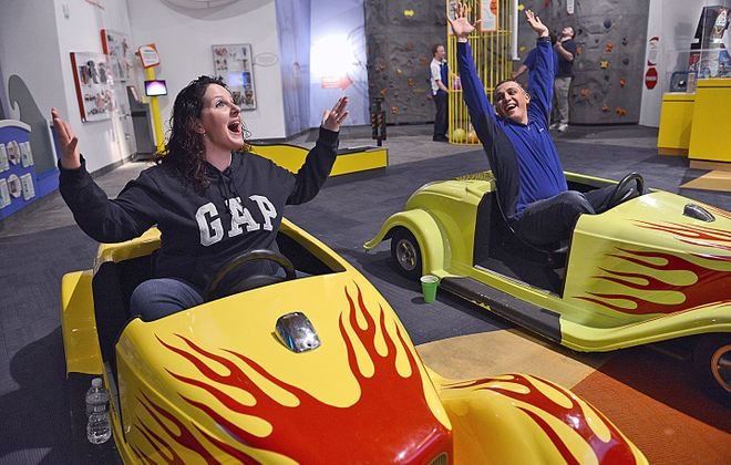 Three times a year, Strong Museum of Play hosts The Happiest Hour: a kids-free opportunity to unleash your inner child. (Strong Museum)