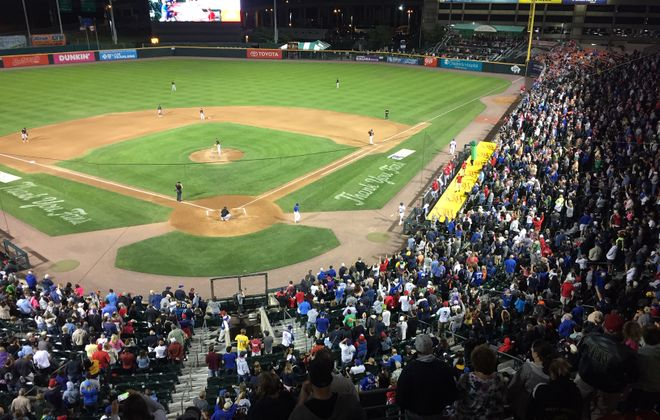 The Bisons sold 14,354 tickets for Fan Appreciation Night.
