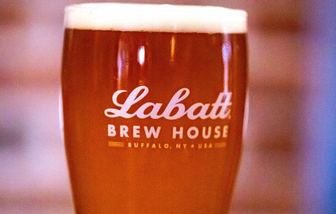 Labatt USA will debut Blue and Gold Ale, a small batch beer crafted at the Labatt Brew House, at the Sabres Fan Fest on Saturday. (Photo courtesy of Labatt USA)