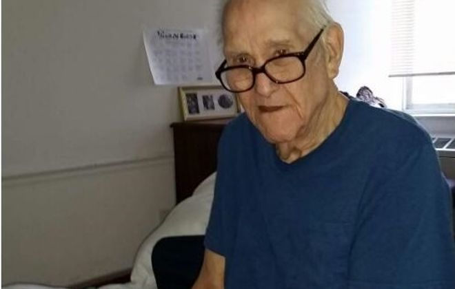 Paul Sutton Sr., a resident of Williamsville Suburban nursing home in Williamsville, died at 92 in 2016. His estate won a default judgment against the nursing home, citing wrongful death and negligence. (Courtesy of Sutton family)