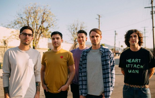 The Chicago band Real Friends will play a gig Sept. 1 in the Rec Room. (Photo courtesy of Fearless Records)