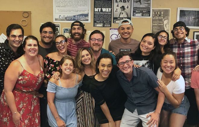 "Part of MusicalFare's diverse cast for ""West Side Story,"" which runs Sept. 4-Oct. 6."