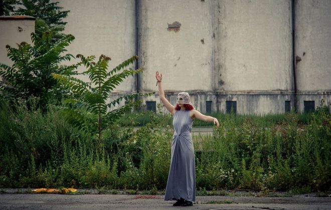 """Torn Space Theater has a reputation for its groundbreaking multimedia events in vacant industrial areas including """"Stations"""" in 2018. (Contributed photo)"""